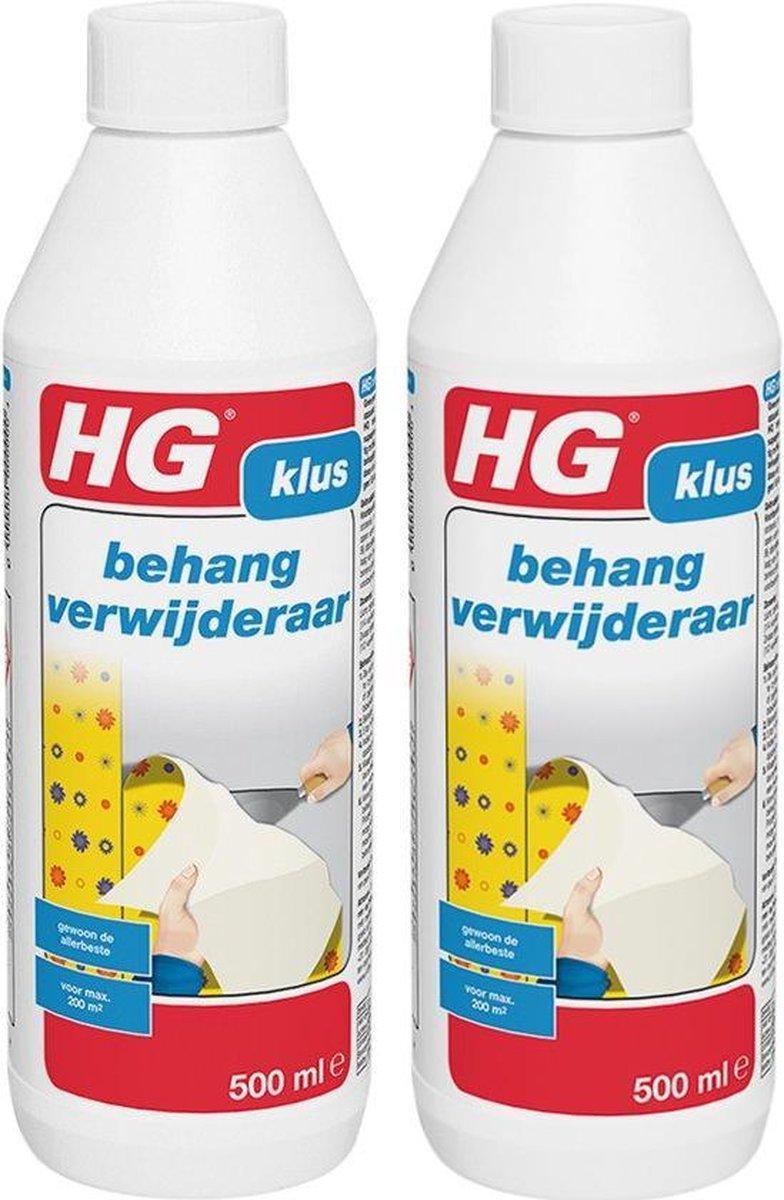 HG Behangverwijderaar - 500 ml - 2 Stuks