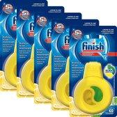 Finish Vaatwasserverfrisser Citroen & Limoen - 5x 60 Afwasbeurten - 5 Stuks - Voordeelverpakking