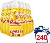 Robijn Wasverzachter Zwitsalgeur - 8 x 30 wasbeurten - Voordeelverpakking