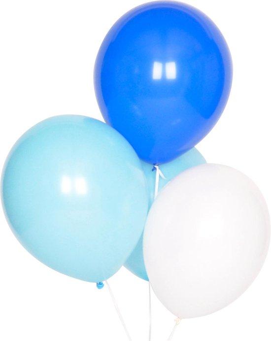 My Little Day - Ballonnen - Mix Blauw - 10 stuks - 30cm