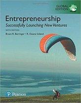 Boek cover Entrepreneurship van Bruce Barringer (Paperback)