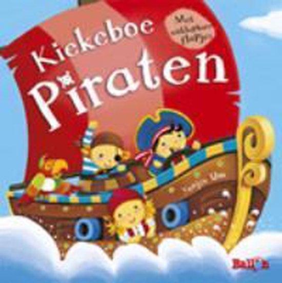 Boek kiekeboe piraten - N.v.t. | Fthsonline.com