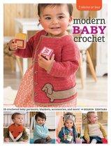 Boek cover Modern Baby Crochet van Sharon Zientara