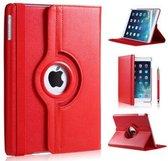 P.C.K. Hoesje/Boekhoesje/Bookcover/Bookcase/Book draaibaar rood geschikt voor Apple iPad AIR/AIR2/2017/2018