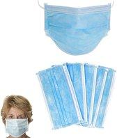 Afbeelding van 10 Stuks Professionele Medische Mondkapjes   Elastiek   Wegwerp  3 laags   Stofmasker
