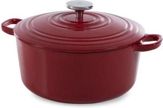 BK Bourgogne Braadpan - 28 cm - Chili Red