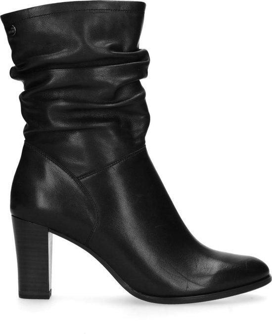 No Stress Dames Zwarte laarzen met hak Maat 40