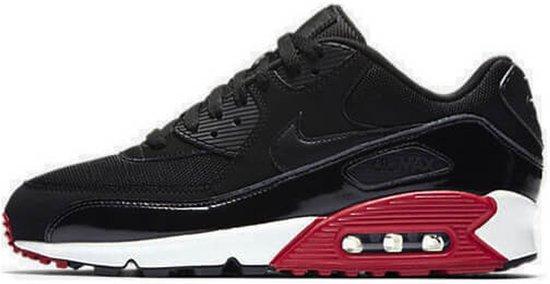 Nike Air Max 90 Essential - Heren Sneakers - Zwart / Rood - 537384-066 -  Maat 42.5