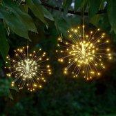 Terrasverlichting vuurwerkbol - 200 warm witte LED