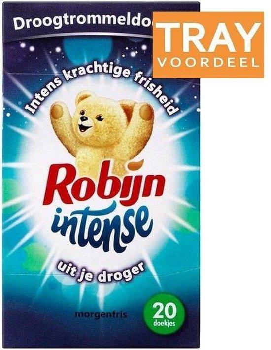 Robijn Morgenfris Droogtrommeldoekjes 6 x 20st
