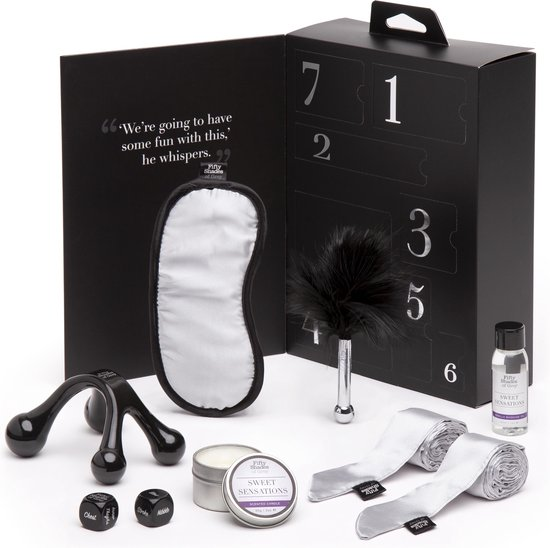 Fifty Shades Pleasure Overload Sweet Sensations Kit - Zwart/ Zilver