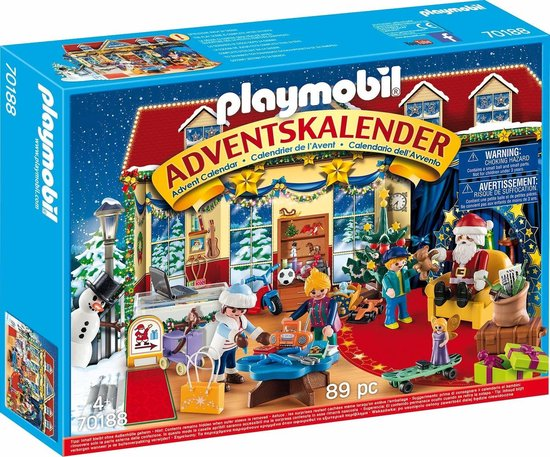 """PLAYMOBIL Christmas Adventskalender ""Speelgoedwinkel"" - 70188"