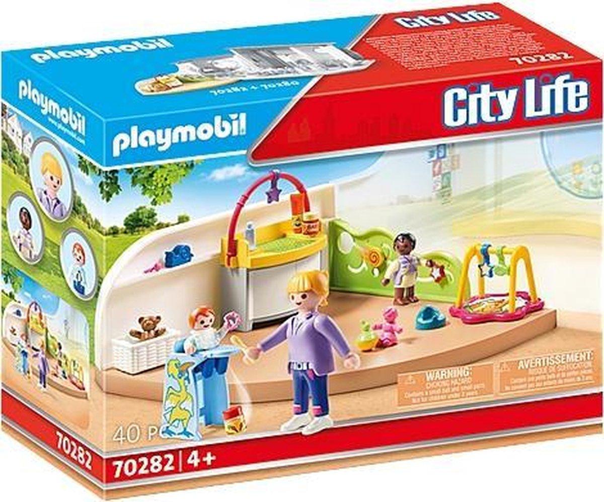 PLAYMOBIL City Life Peutergroep - 70282