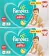 Pampers Baby Dry - maat 4+ (9-15kg) - 2 x 54 (108) stuks