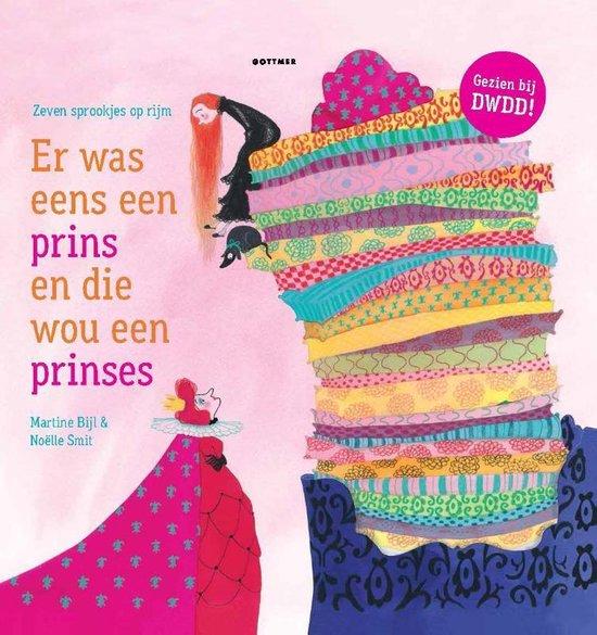 Boek cover Er was eens een prins en die wou een prinses (met cd) van Martine Bijl (Hardcover)