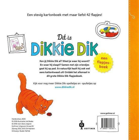 Dit Is Dikkie Dik Flapjesboek