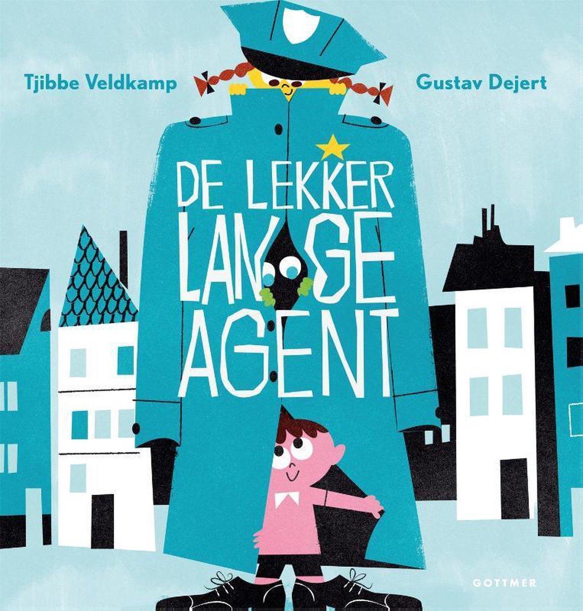 bol.com | De lekker lange agent, Tjibbe Veldkamp | 9789025765521 | Boeken