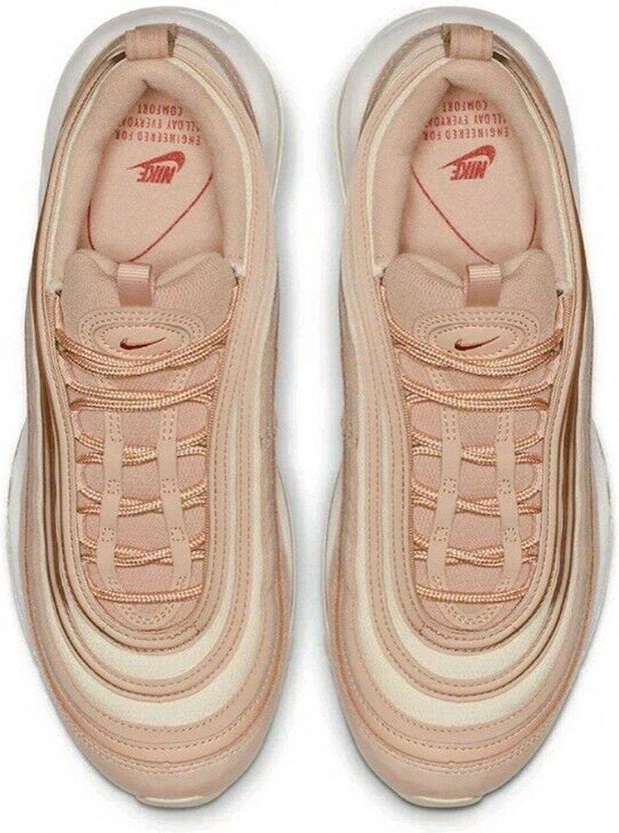 Nike Air Max 97 Sneakers Maat 37.5 Vrouwen beigewit