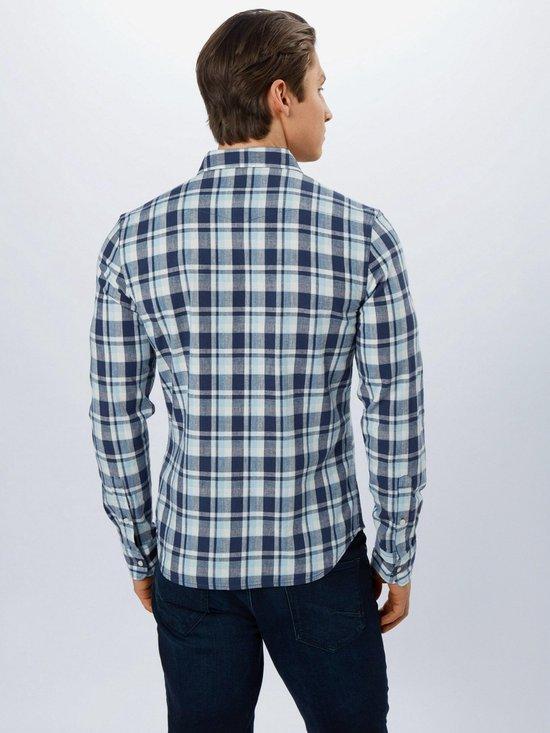 Lee Overhemd Clean Western Navy-l