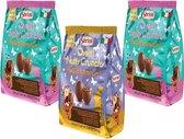 Sorini Chocolade Paaseitjes Nutty Crunch / Salty Crunch - 3 x 240 Gram