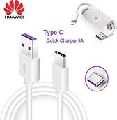 Huawei USB-C Oplaad Kabel/Data Kabel Snel Lader 5V 1 Meter Oplaad Kabel 1 Meter voor Huawei/Samsung/Nokia/HTC/Sony