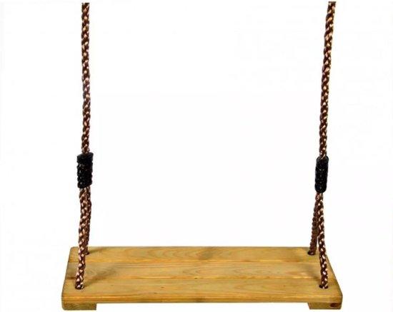 Schommelzitje hout 41,5 x 15 cm