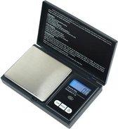 Professionele Digitale Mini Pocket Keuken Precisie Weegschaal Op Batterij - 0.1 Tot 500 Gram Nauwkeurig