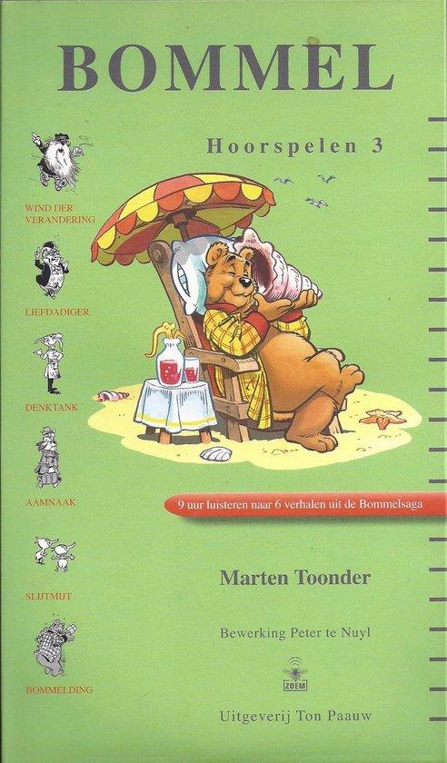 CD cover van Bommel hoorspelen 3 van Marten Toonder