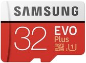 Samsung Evo Plus MicroSDHC 32GB - met adapter