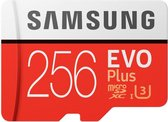 Samsung Evo Plus MicroSDXC 256GB - met adapter