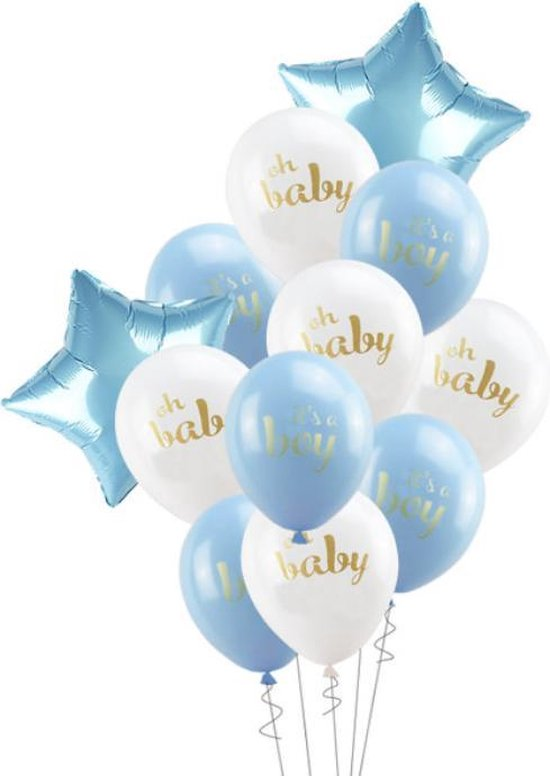Luxe Geboorte ballonnen set Jongen | It