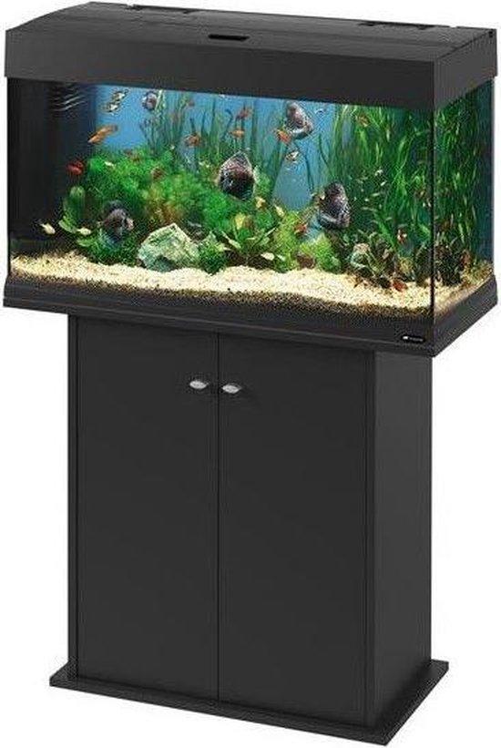 Ferplast aquarium meubel dubai/cayman 80 zwart