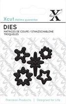 Xcut: Mini Die (5pcs) - Mini Stars (XCU 503617)