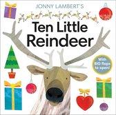 Boek cover Jonny Lamberts Ten Little Reindeer van Jonny Lambert