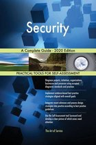 Security A Complete Guide - 2020 Edition