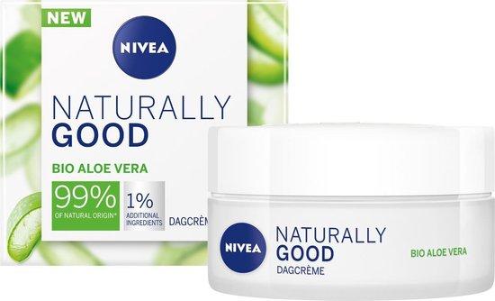 Nivea Naturally Good Dagcrème - 50 ml - met biologische Aloë Vera