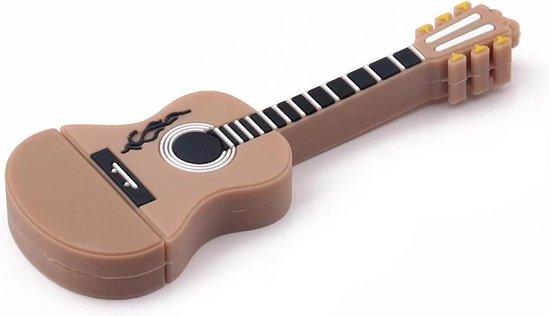 Ulticool USB-stick Gitaar - 16 GB - Muziek - Bruin