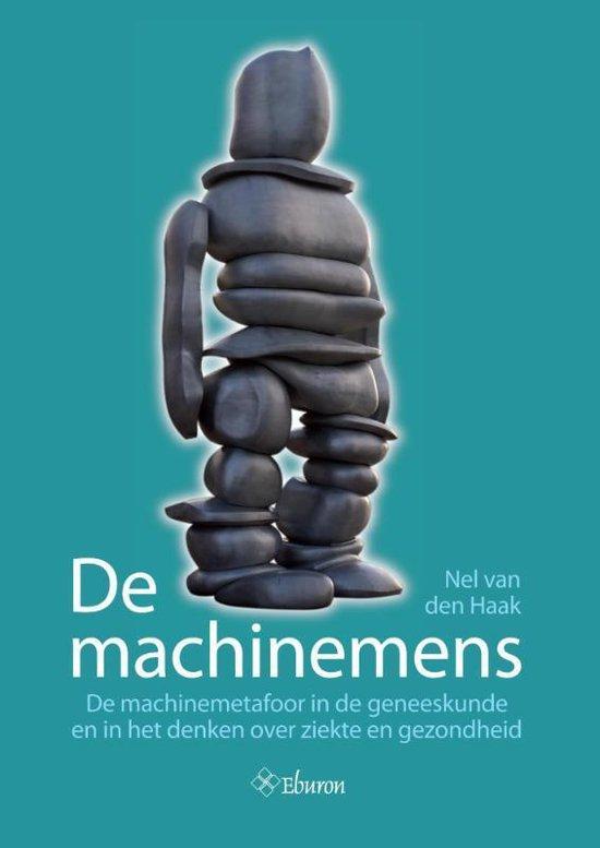 Cover van het boek 'De machinemens' van Nel van den Haak