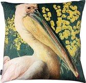 Kussen Velvet Pelican Green 50x50cm