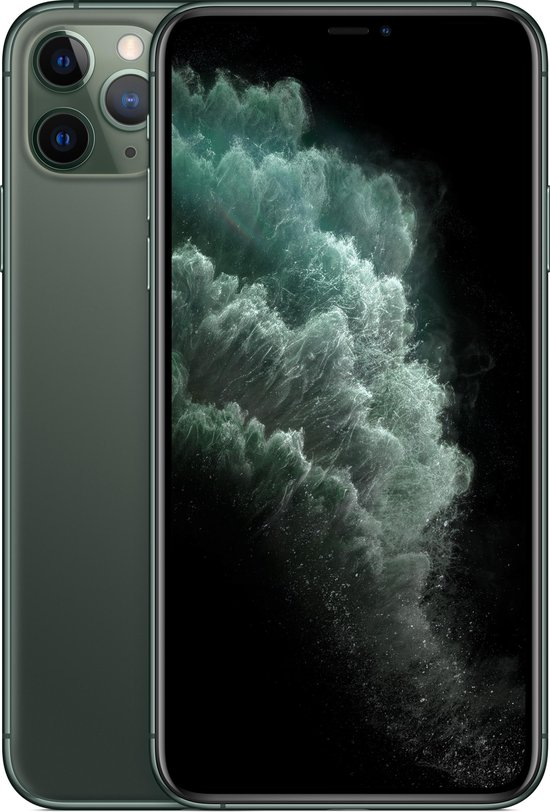 Apple iPhone 11 Pro Max - 512GB - Middernachtgroen