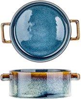 QUINTANA BLUE SOEPKOM D13XH5,5CM 45CL - set van 4