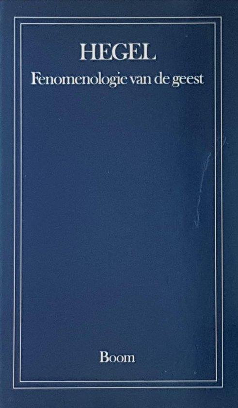 Boek cover Fenomenologie van de geest van G.W.F. Hegel (Paperback)
