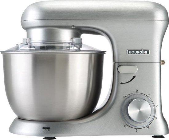 Bourgini 22.5079 - Kitchen Chef Pro - Keukenmachine - Zilver