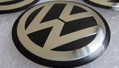 Set van 4 Volkswagen stickers 65mm