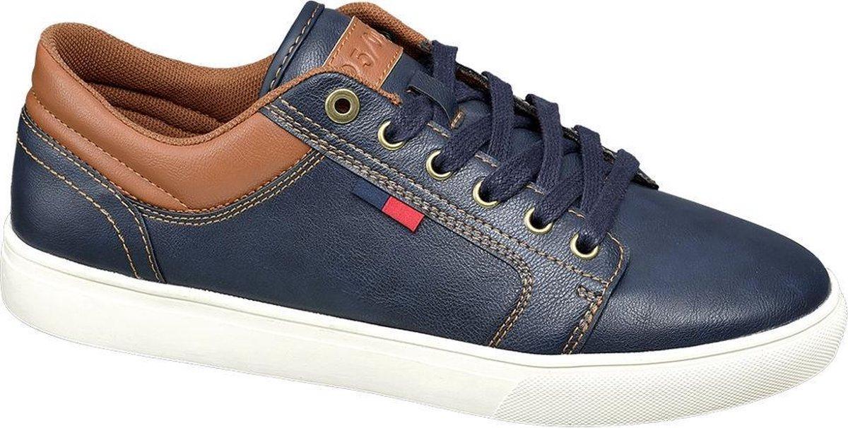Memphis One Heren Donkerblauwe sneaker - Maat 44