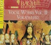 Bach Edition - Vocal Works Vol II / Flamig, Leusink, Christophers, et al