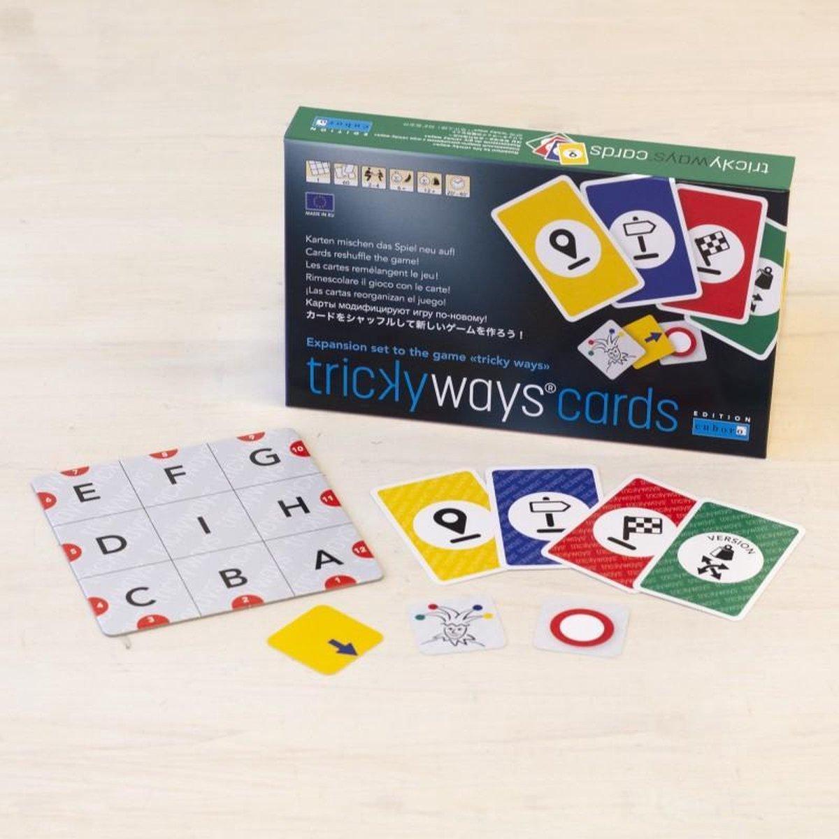 Cuboro uitbreiding kaartspel voor Tricky Ways