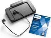 Philips SpeechExec Transcriptieset LFH7177/06, USB voetschakelaar, Stereo headset, SpeechExec Basic-transcriptiesoftware (abonnement voor 2 jaar inbegrepen)