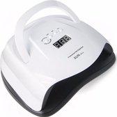 ExCorn Professionele 42LED UV Nagellamp - SMART sensor - 80 W nageldroger voor Gelnagels – 2 handen droger – Timer – UV LCD Display – Dubbel licht – Automatiche sensor – Heat mode – Nagel Gellak