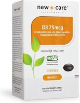 New care vitamine d3 75mcg * 100 st
